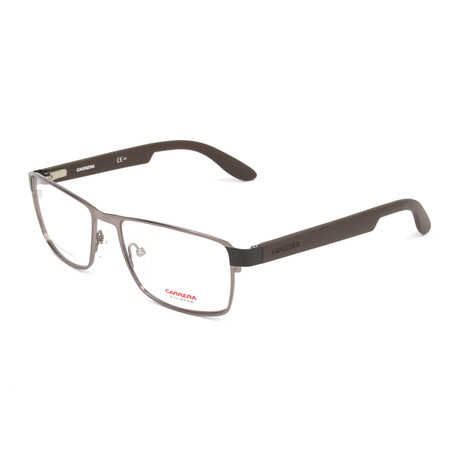 Unisex CA5504-BXG Optical Frames // Dark Ruthenium + Matte Brown