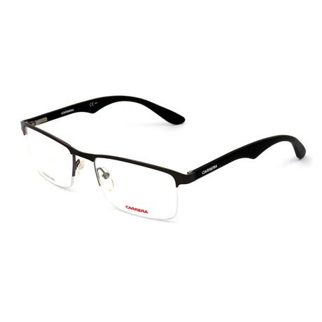 Men's CA6623-XVD Optical Frames // Ruthenium + Matte Black