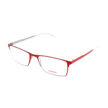 Men's CA6662-RIN Optical Frames // Matte Red Ruthenium