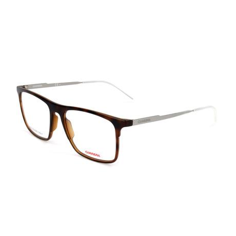 Men's CA6667-R8Q Optical Frames // Havana + Dark Ruthenium