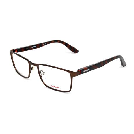 Men's CA8809-0RH Optical Frames // Matte Brown Havana