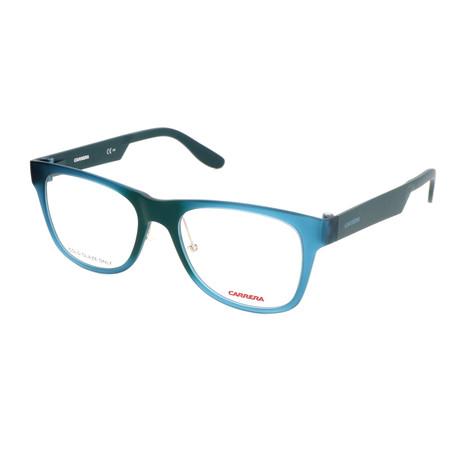 Unisex CA5533-L28 Optical Frames // Transparent Teal