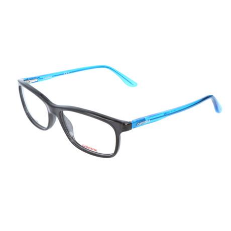 Men's CA6628-NOS Optical Frames // Smoke + Transparent Blue