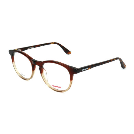 Unisex CA6636-N-TKI Optical Frames // Shaded Brown Havana