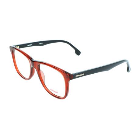 Unisex 135-V Optical Frames // Burgundy + Black
