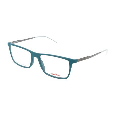 Men's CA6664-R5V Optical Frames // Petrol Matte Ruthenium