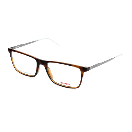 Men's CA6664-3MA Optical Frames // Havana Ruthenium