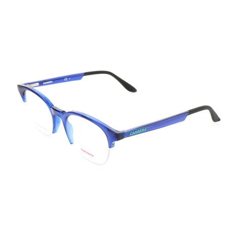 Unisex CA5543-OGD Optical Frames // Transparent Blue