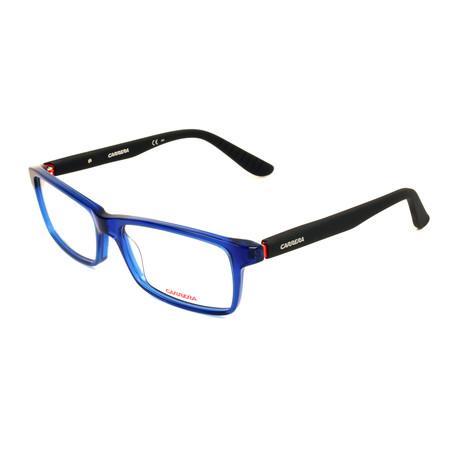 Men's CA8800-1HI Optical Frames // Blue + Matte Black
