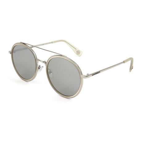 Unisex SCO2845-CRSI Sunglasses // Silver