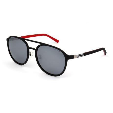 Men's Polarized SCO1985-6AAP Sunglasses // Rubberized Black