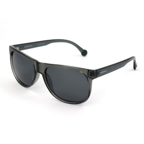 Men's Polarized SCO099Q-SMOK Sunglasses // Nero Super Black