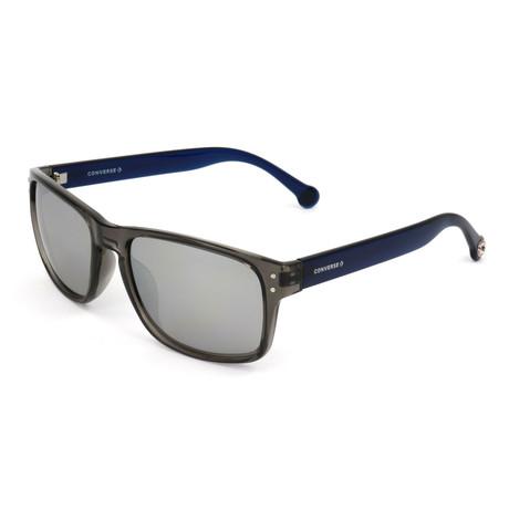 Men's SCO084Q Sunglasses // Smoke + Blue