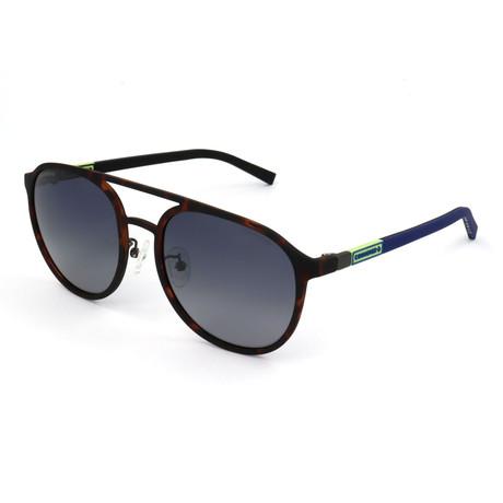 Men's Polarized SCO1985-7VEP Sunglasses // Rubberized Havana
