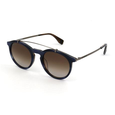 Unisex SCO1395-0M61 Sunglasses // Blue + Brown