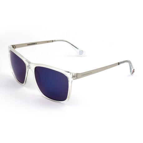 Men's SCO2895-0CRY Sunglasses // Transparent