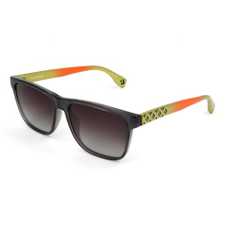 Men's Polarized SCO1445-M78P Sunglasses // Transparent Gray