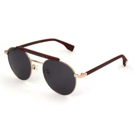 Men's SCO2255-0A93 Sunglasses // Rose Gold + Red