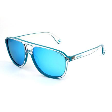 Men's Polarized SCO2325-D13P Sunglasses // Crystal + Blue