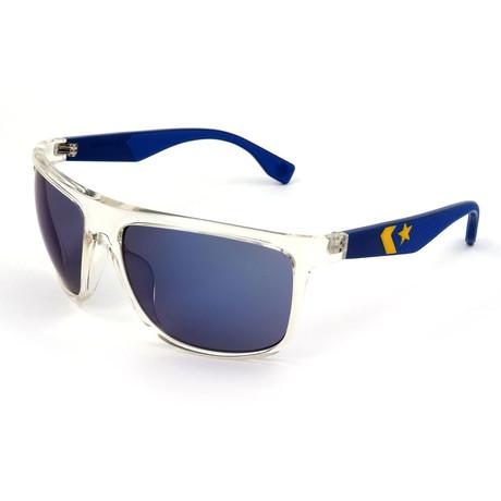 Men's SCO2456-880B Sunglasses // Crystal + Navy