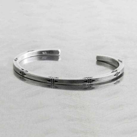 Thin Bangle // Silver