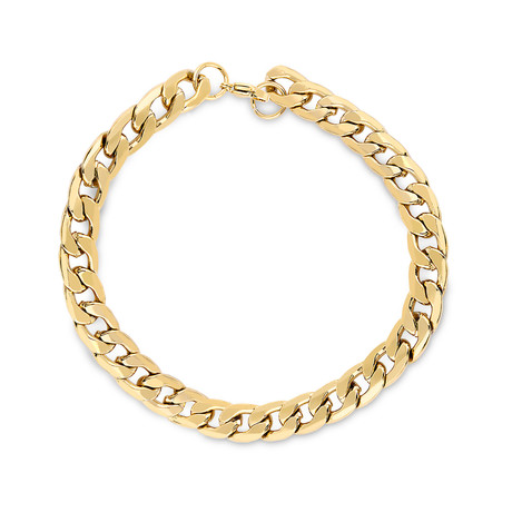 Chain Link Bracelet // Golden