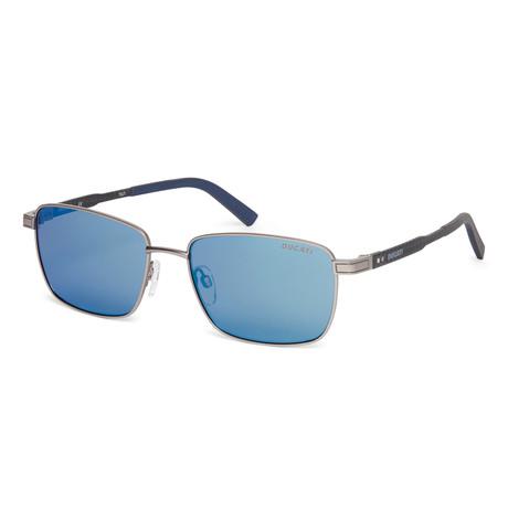 Men's DA7014 Sunglasses // Gunmetal
