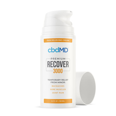 Recover CBD Inflammation Formula // Airless Pump // 3000 mg // 3.4 oz