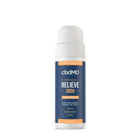 Relieve CBD Balm // 2.5 oz (500mg)