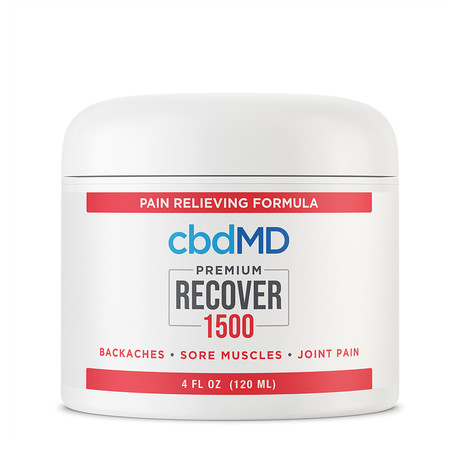Recover CBD Inflammation Formula // 1500mg // 4oz (Squeeze Bottle)