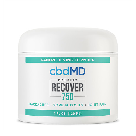 Recover CBD Inflammation Formula // 750mg // 4oz (Squeeze Bottle)