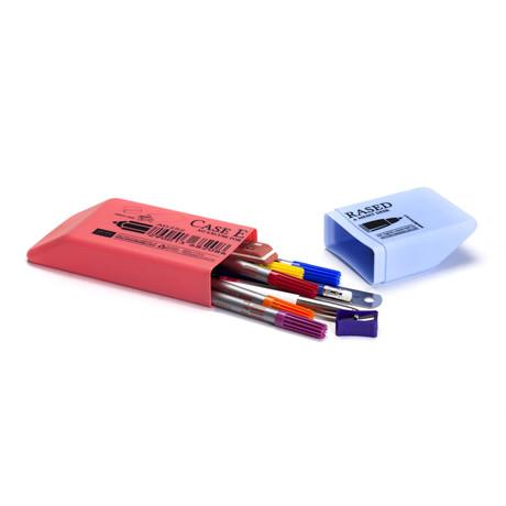 Case Erased Pencil Case // Set of 2