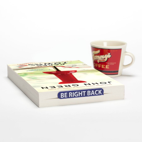 Bookmarker // Be Right Back // Set of 2 (Red)