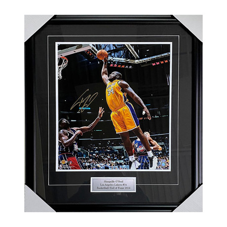 Shaquille O'Neal // Los Angeles Lakers // Autographed