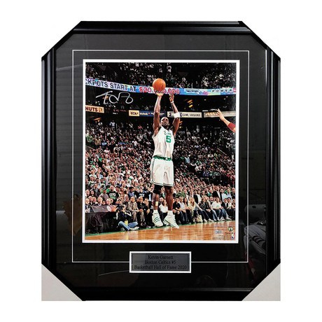 Kevin Garnett // Boston Celtics // Autographed