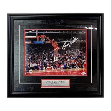 Dominique Wilkins // Atlanta Hawks // Autographed