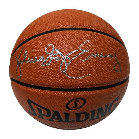 Julius Erving // Autographed Spalding Basketball