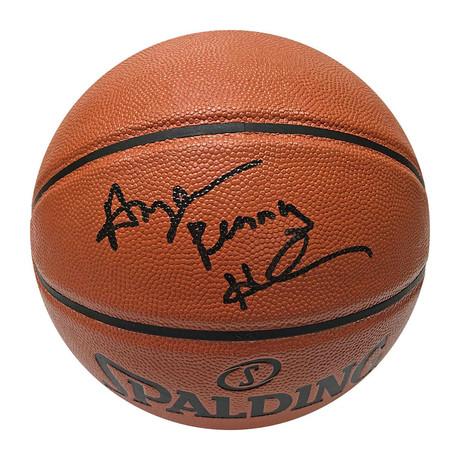 Penny Hardaway //  Autographed Basketball