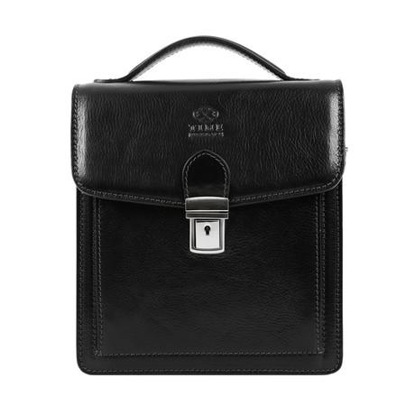 Walden // Leather Briefcase // Black