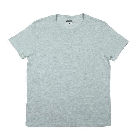 Super Soft Short Sleeve T // Heather White (S)