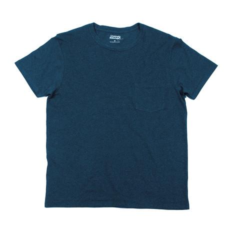 Super Soft Short Sleeve T // Dark Heather Blue (S)
