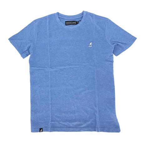 Short Sleeve Pique Tee // Lapis Blue (S)