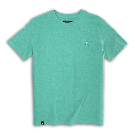 Short Sleeve Pique Tee // Bright Green (S)