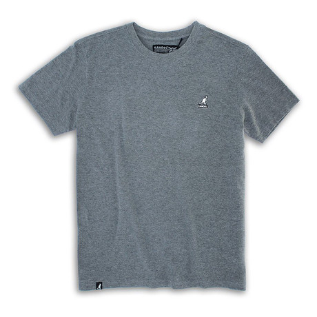 Short Sleeve Pique Tee // Black (S)