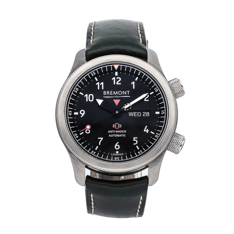Bremont MBII Automatic // MBII-BK/JET // Pre-Owned