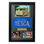 Up In Smoke // Cheech & Chong's Fiberweed Van // Signed Replica License Plate Display