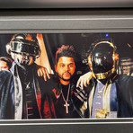 Starboy // The Weeknd // Signed CD Album Cover // Replica License Plate Display