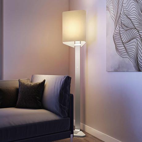 LUX Brooklyn Floor Light (Aluminum)