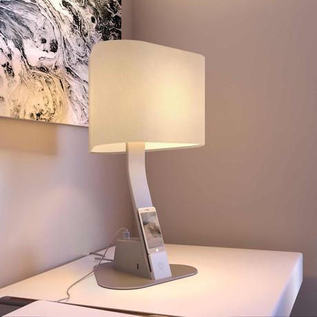 LUX Brooklyn AC Desk Light (Aluminum)