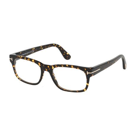 Men's Square Optical Frames // Dark Havana
